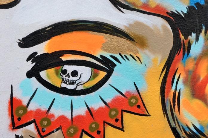Street art Fitzgerald Street South Yarra