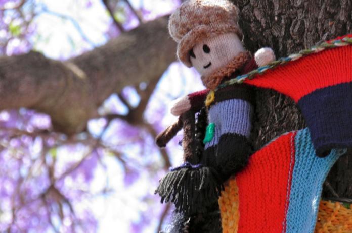 yarn bombing adelaide 2