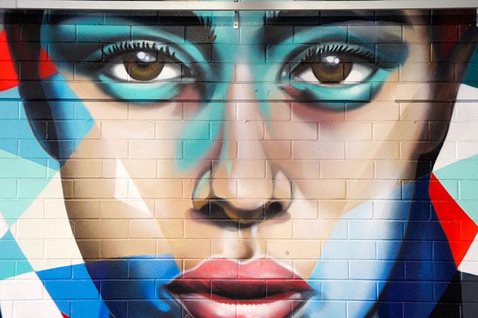 Adelaide Central Market street art