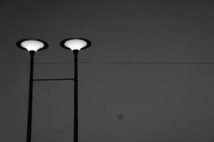 Melbourne sculpture black and white