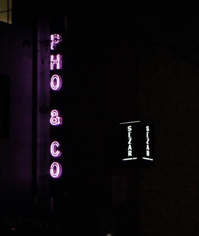 neon sign melbourne pho & co